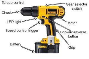Hammer Drill Parts