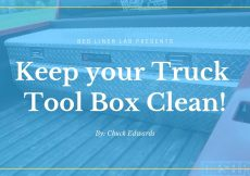Truck Tool Box Cleaner