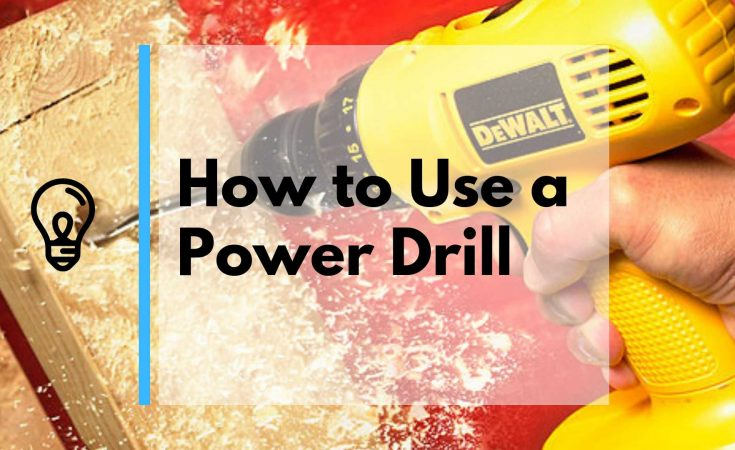 How to use a Power Drill Guide