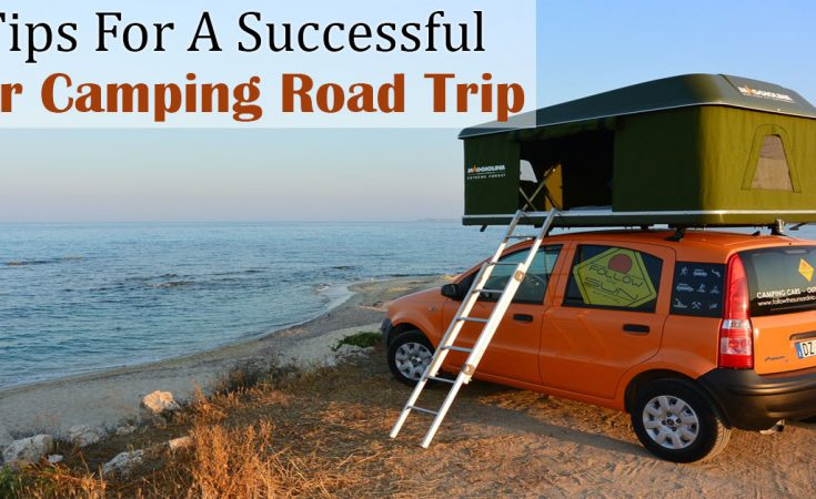 car camping road trip ideas