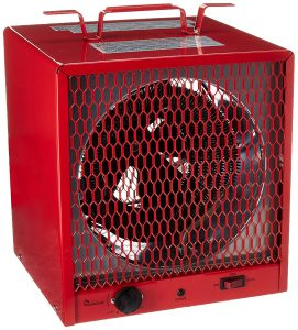 electric fan heater for workshop