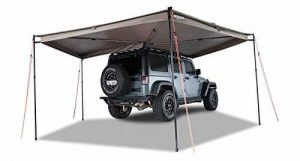 truck camper awning ideas