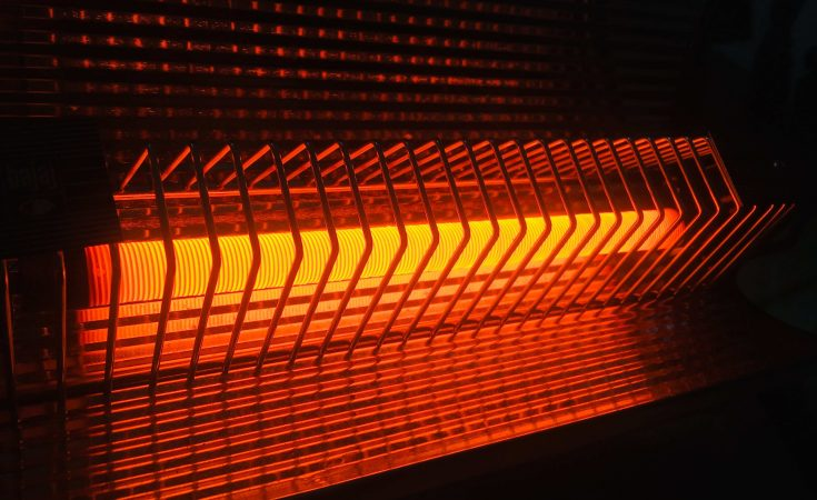 how do infrared heaters works