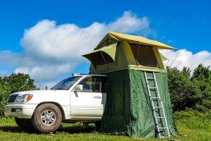 roof rack bar truck tent