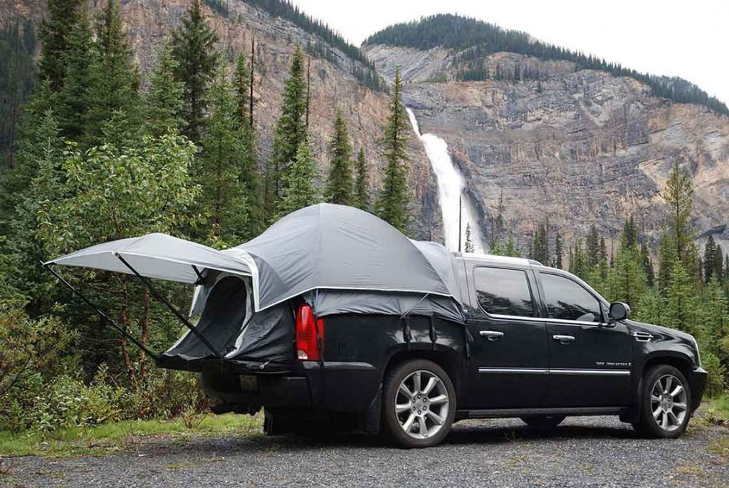truck bed tents for camping