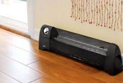 baseboard space heater